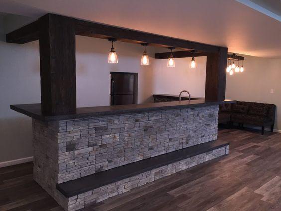 Diseno de bares en casa 14 curso de organizacion del for Bares modernos para casas