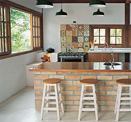 bar en casa modernos