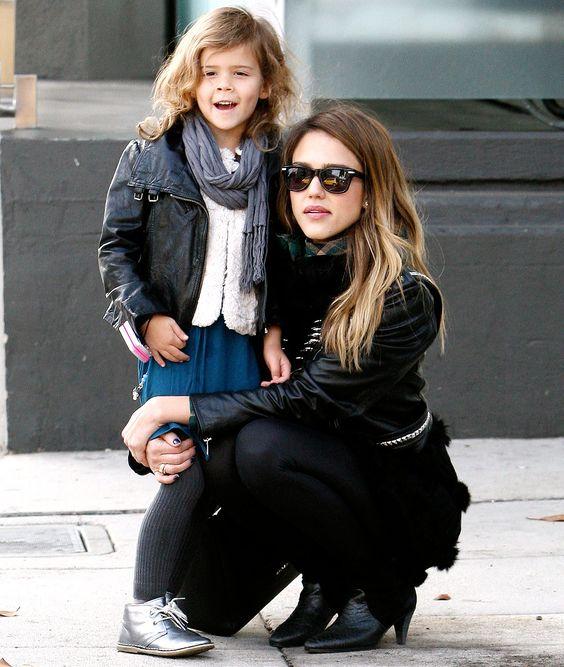 El estilo de Jessica Alba ¡Una mamá con mucho estilo!