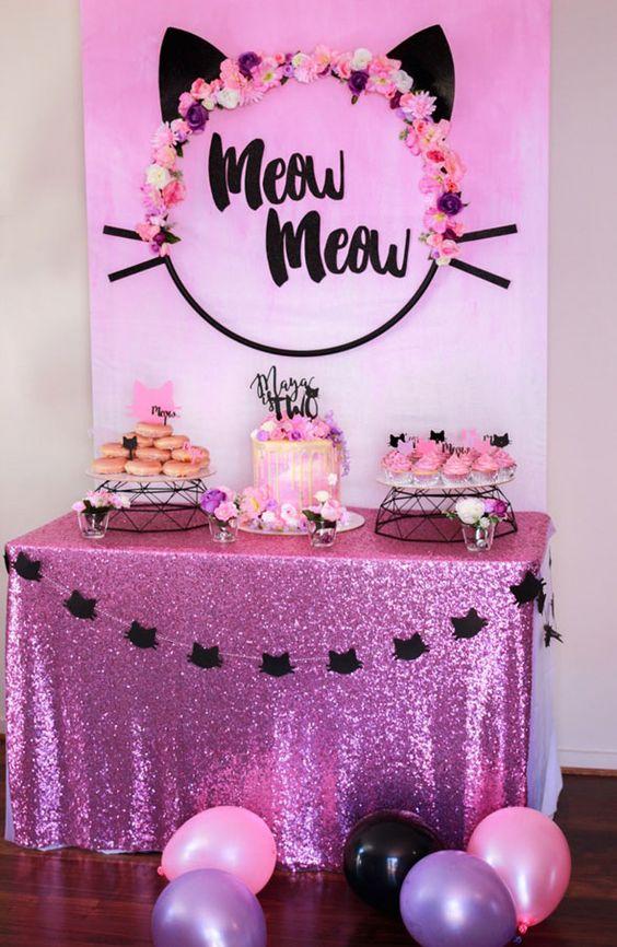 Fiestas temáticas para niñas