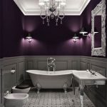 Ideas de decoración de interiores en color morado
