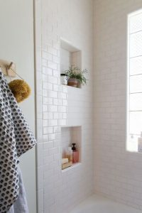 Ideas para baños decorados con color blanco