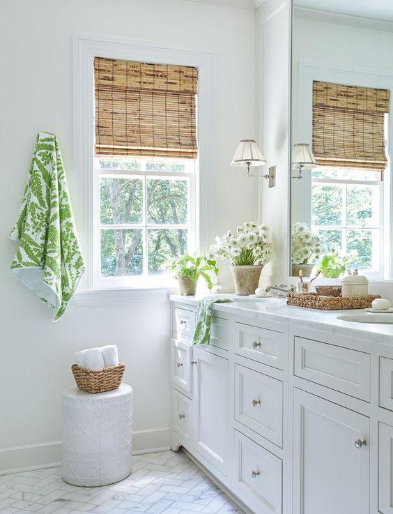 Ideas para banos decorados con color blanco 19 curso for Banos de color blanco