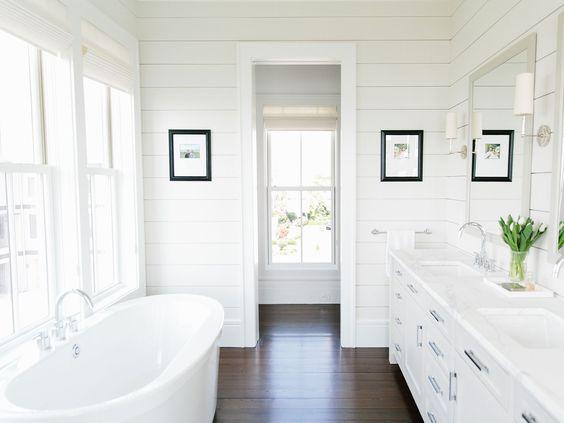 Ideas para banos decorados con color blanco 22 curso for Banos de color blanco