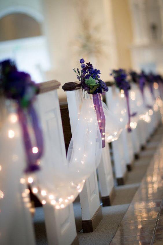 Como decorar la entrada a la iglesia en una boda Como decorar una entrada