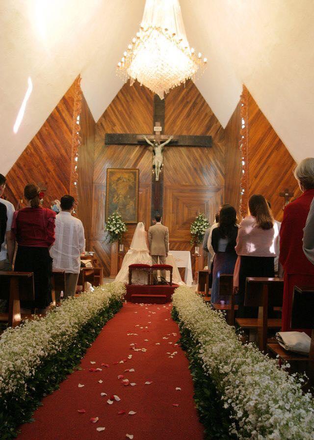 Como decorar la entrada a la iglesia en una boda