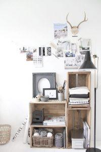 Ideas para decorar y organizar con cajas de madera