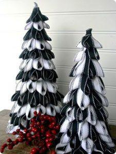 La nueva tendencia en pinos navideños mini