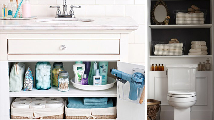 Las mejores opciones para organizar productos de ba o - Ideas para organizar el armario ...