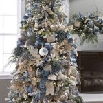 Navidad 2017 tendencias en decoración pino azul con dorado