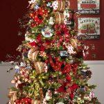Navidad 2017 tendencias en decoración pino verde