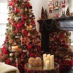 Navidad 2017 tendencias en decoración pino y mesa con con velas