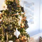Navidad 2017 tendencias en decoración de árbol con moños
