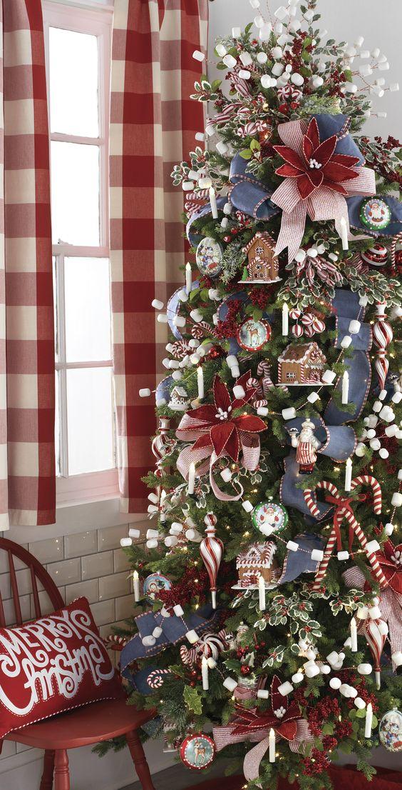 Navidad 2017 tendencias en decoraci n con pino y for Decoracion navidad 2017 tendencias