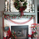 Navidad 2017 tendencias en decoración chimenea con venado