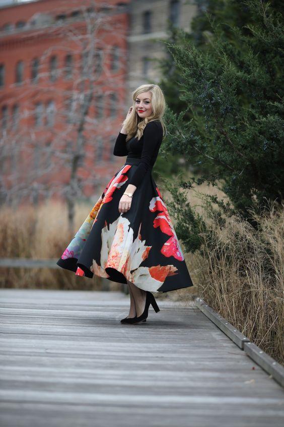 Outfits con Estampados de Flores, llenos de Elegancia y Buen Gusto