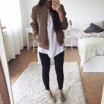 Outfits con tenis para otoño-invierno 2017