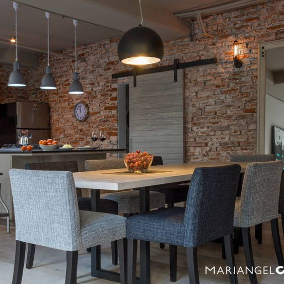 Piedra laja para decorar el interior de tu hogar curso - Paredes de piedra interiores ...