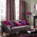Añade Morado a tu Sala Es el color del Poder y la Elegancia