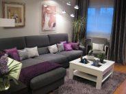 Decoracion de tu Sala en color Morado: Es el color del Poder y la Elegancia