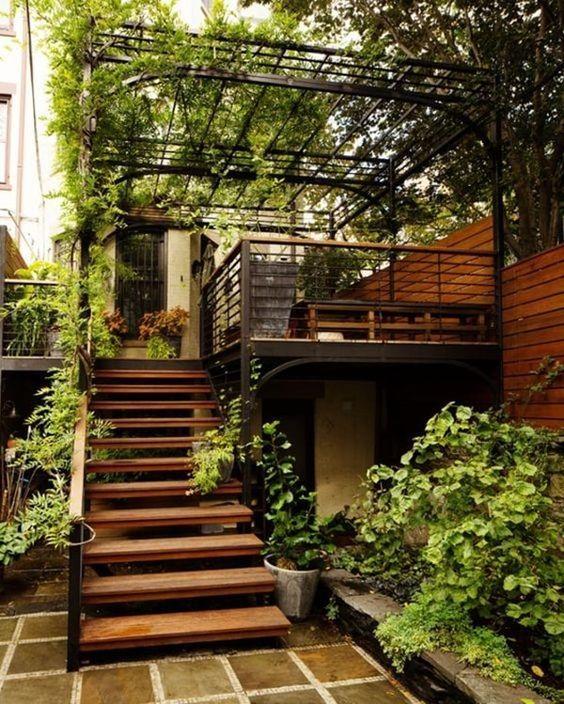 Escaleras De Madera Para Exterior Curso De Organizacion Del Hogar - Escaleras-de-madera-para-exteriores
