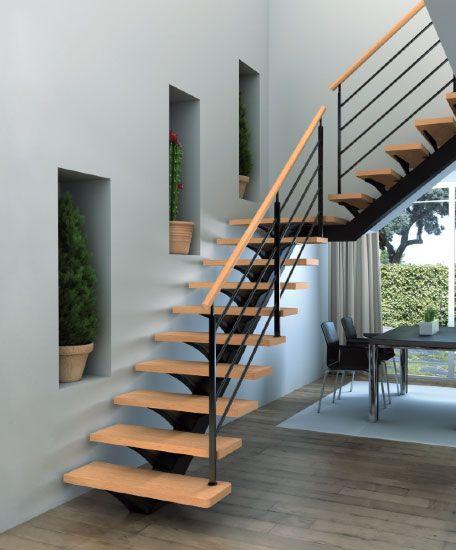Escaleras exteriores modernas curso de organizacion del for Escaleras para exteriores de madera