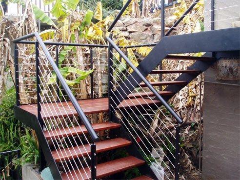 Escaleras Exteriores Para Casas De Dos Pisos Curso De