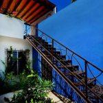 Escaleras modernas para exterior
