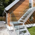 Escaleras para casas de dos pisos