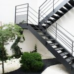 Escaleras para exteriores