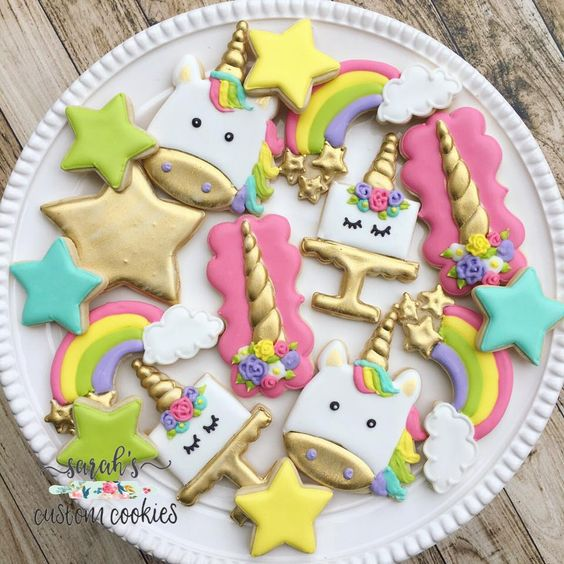 Galletas decoradas para baby shower