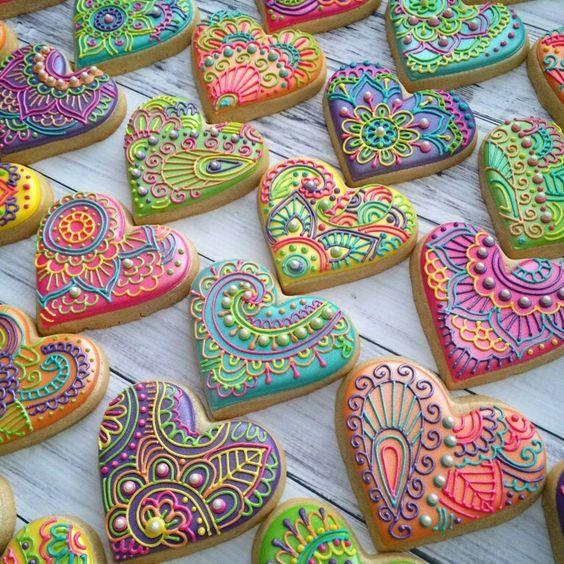 Ideas para decorar galletas artesanales para fiestas de mujer
