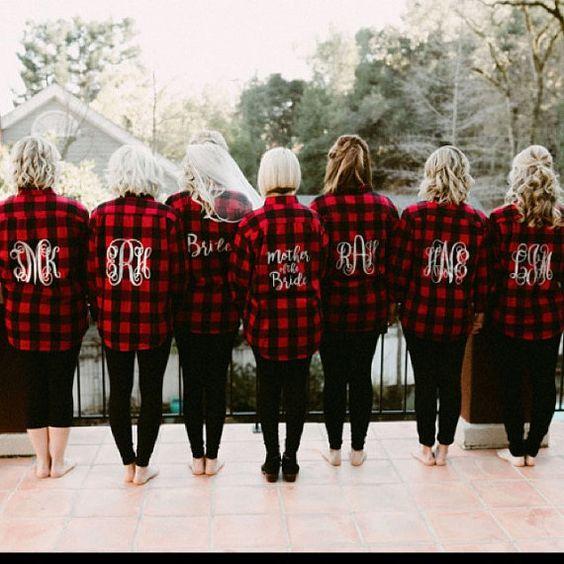 camisas iguales para despedidas de solteras