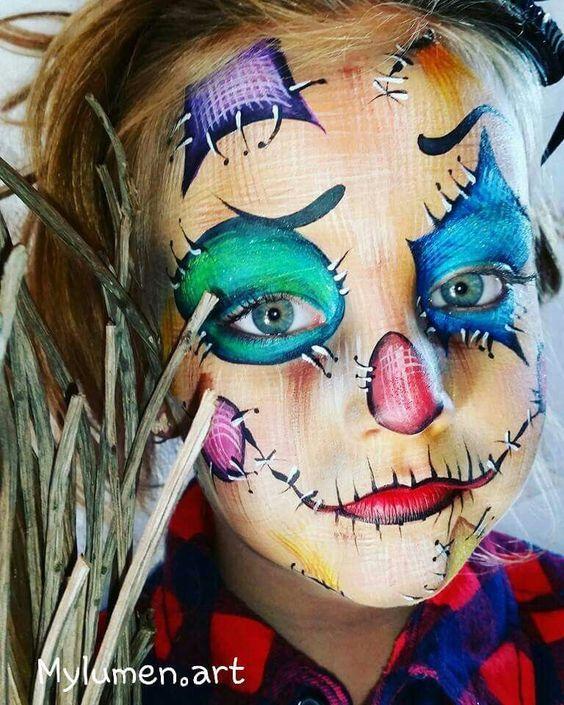 Maquillaje para Hallowe Maquillaje para halloween para niños modernoen para tus Hijos