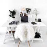 Mesas de oficina en casa