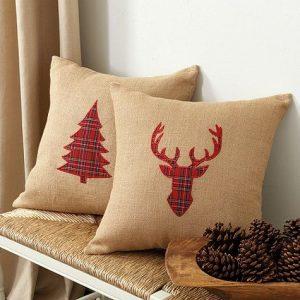 Cojines navideños que le darán un aspecto lindo a tu casa