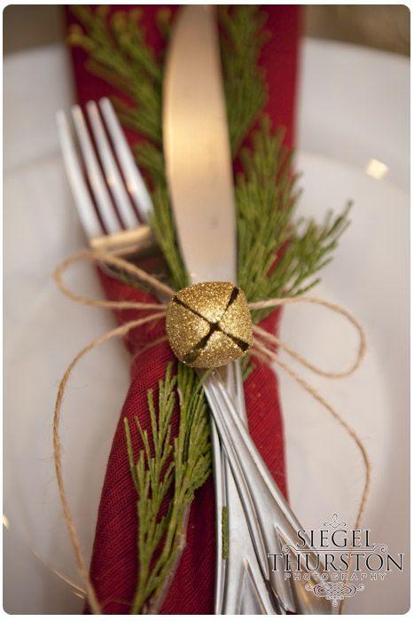 Como montar una mesa para la cena navideña
