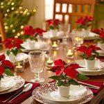 Como montar una mesa para la cena navideña 2017 - 2018 con noche buenas