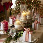 Como montar una mesa para la cena navideña 2017 - 2018 con regalos