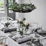 Como montar una mesa para la cena navideña 2017 - 2018 con plata y blanco