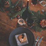 Como montar una mesa para la cena navideña 2017 - 2018 vintage