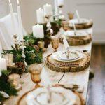 Como montar una mesa para la cena navideña 2017 - 2018 color dorado