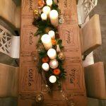 Como montar una mesa para la cena navideña 2017-2018 estilo vintage