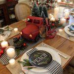 Como montar una mesa para la cena navideña 2017-2018 familiar