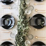 Como montar una mesa para la cena navideña 2017-2018 centro de mesa