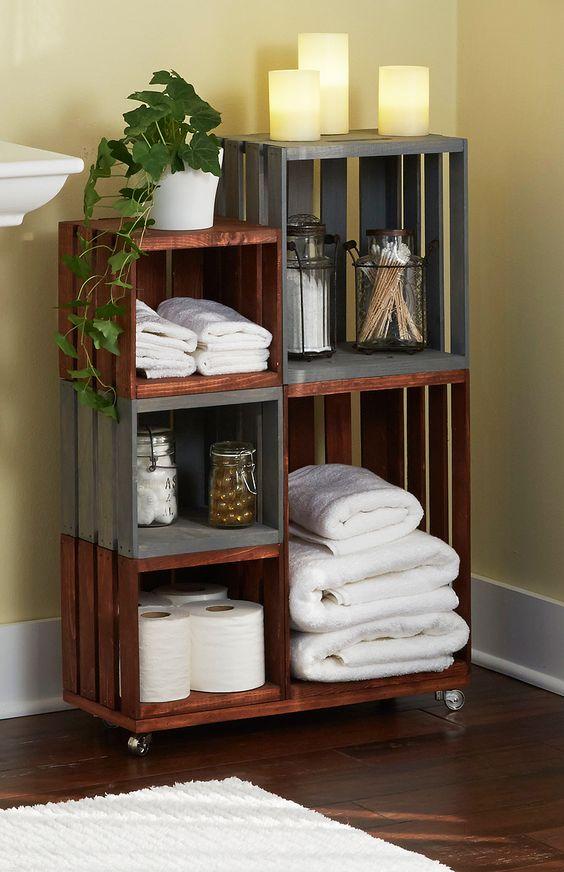 Como organizar tu hogar con ayuda de cajas de madera 15 for Como decorar tu hogar
