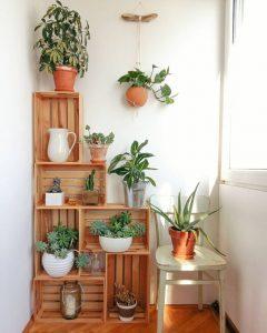 Como organizar tu hogar con ayuda de cajas de madera