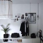 Decoración de interiores con blanco y negro
