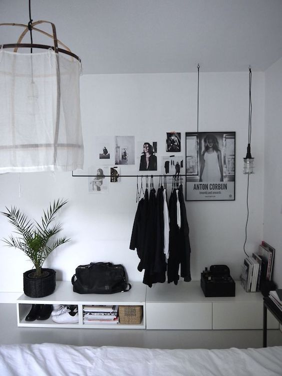 Ideas para decorar en blanco y negro