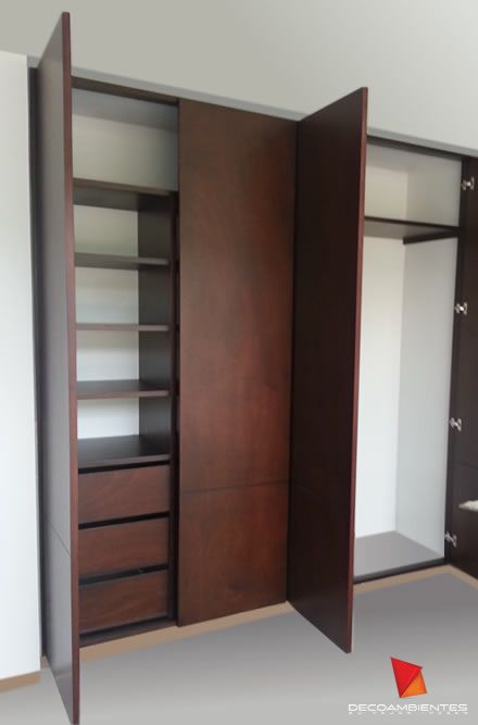 Dise os de armarios empotrados curso de organizacion del Diseno de interiores closets modernos